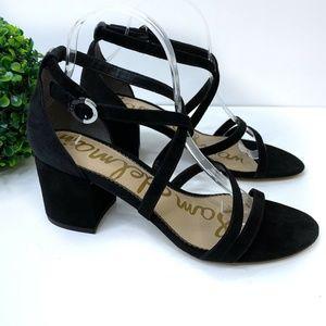 Sam Edelman Stacie Heeled Leather Strappy Sandal